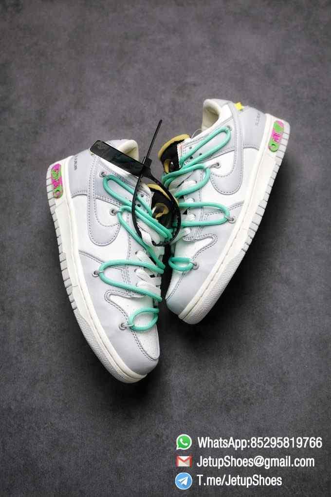 Best Replica Nike Sneakers 0ff White x Nike Dunk Low 04 of 50 SKU DM1602 114 Top RepSneakers Supplier 03