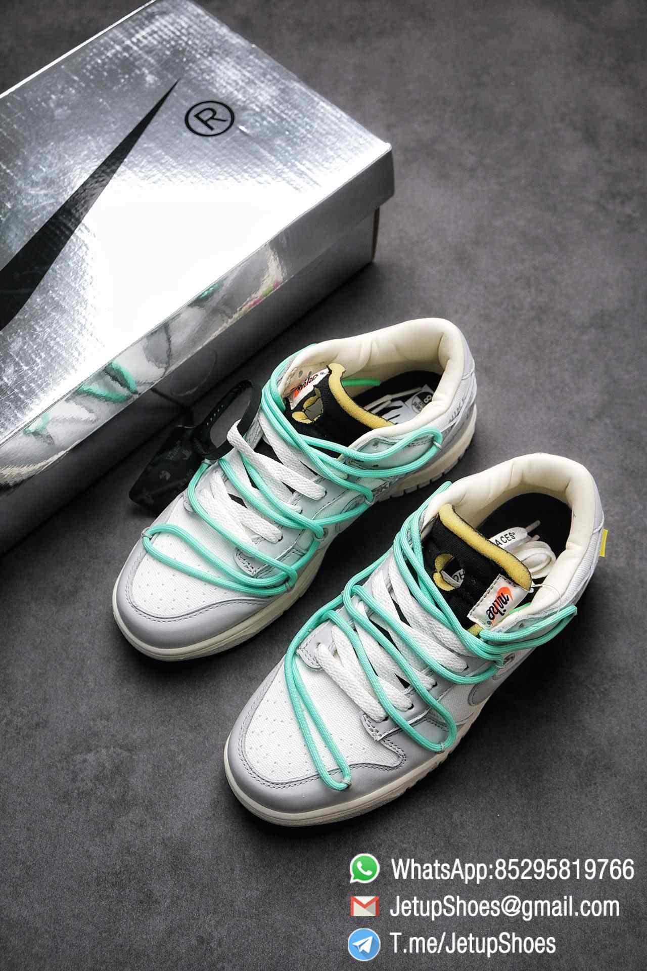 Best Replica Nike Sneakers 0ff White x Nike Dunk Low 04 of 50 SKU DM1602 114 Top RepSneakers Supplier 04