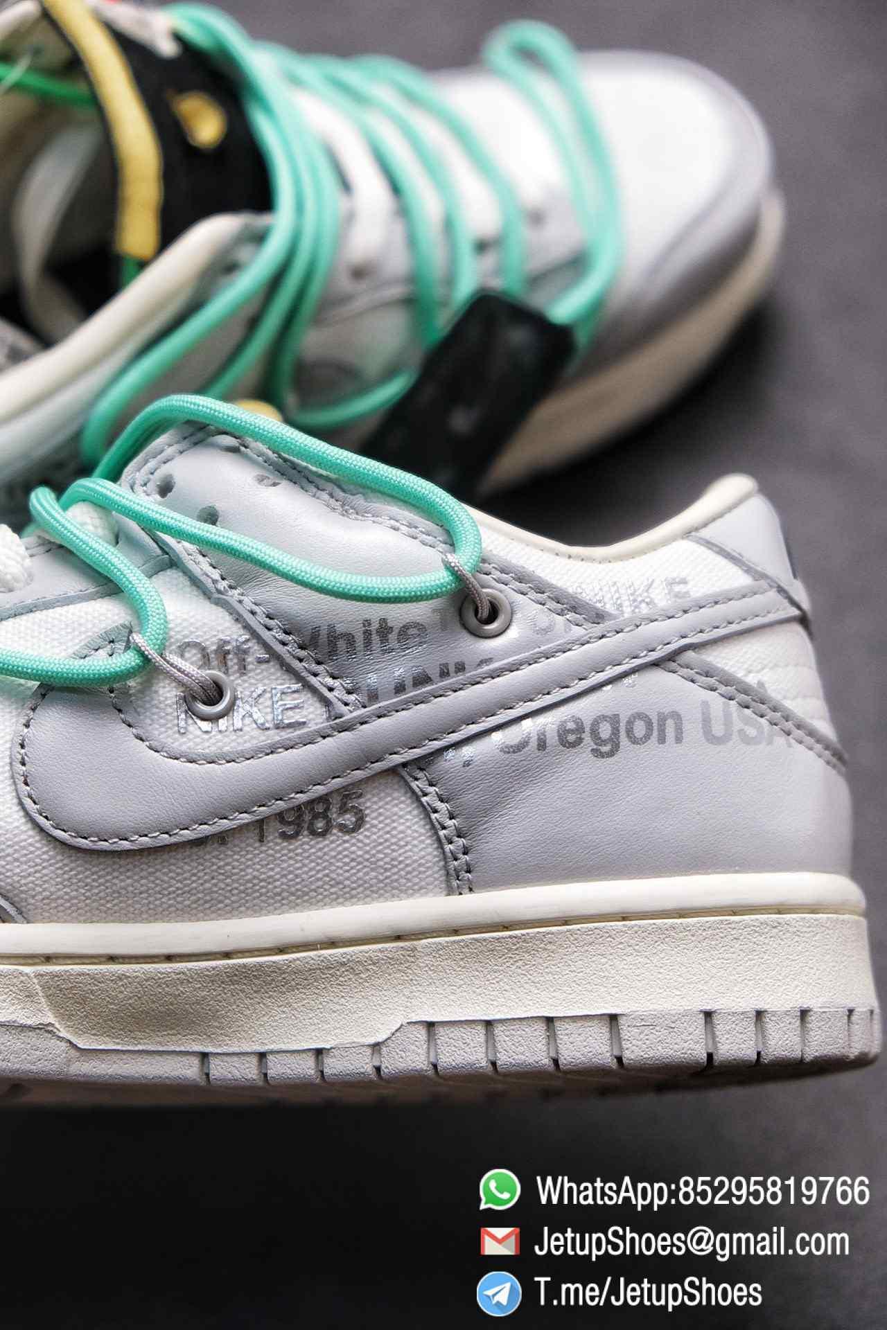Best Replica Nike Sneakers 0ff White x Nike Dunk Low 04 of 50 SKU DM1602 114 Top RepSneakers Supplier 08