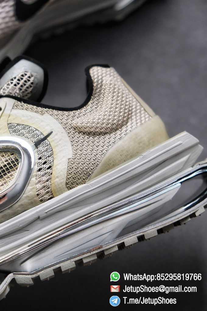 Best Replica Sneakers Matthew M Williams x Nike Zoom 004 Stone CU0676 200 Top Sneakers 011