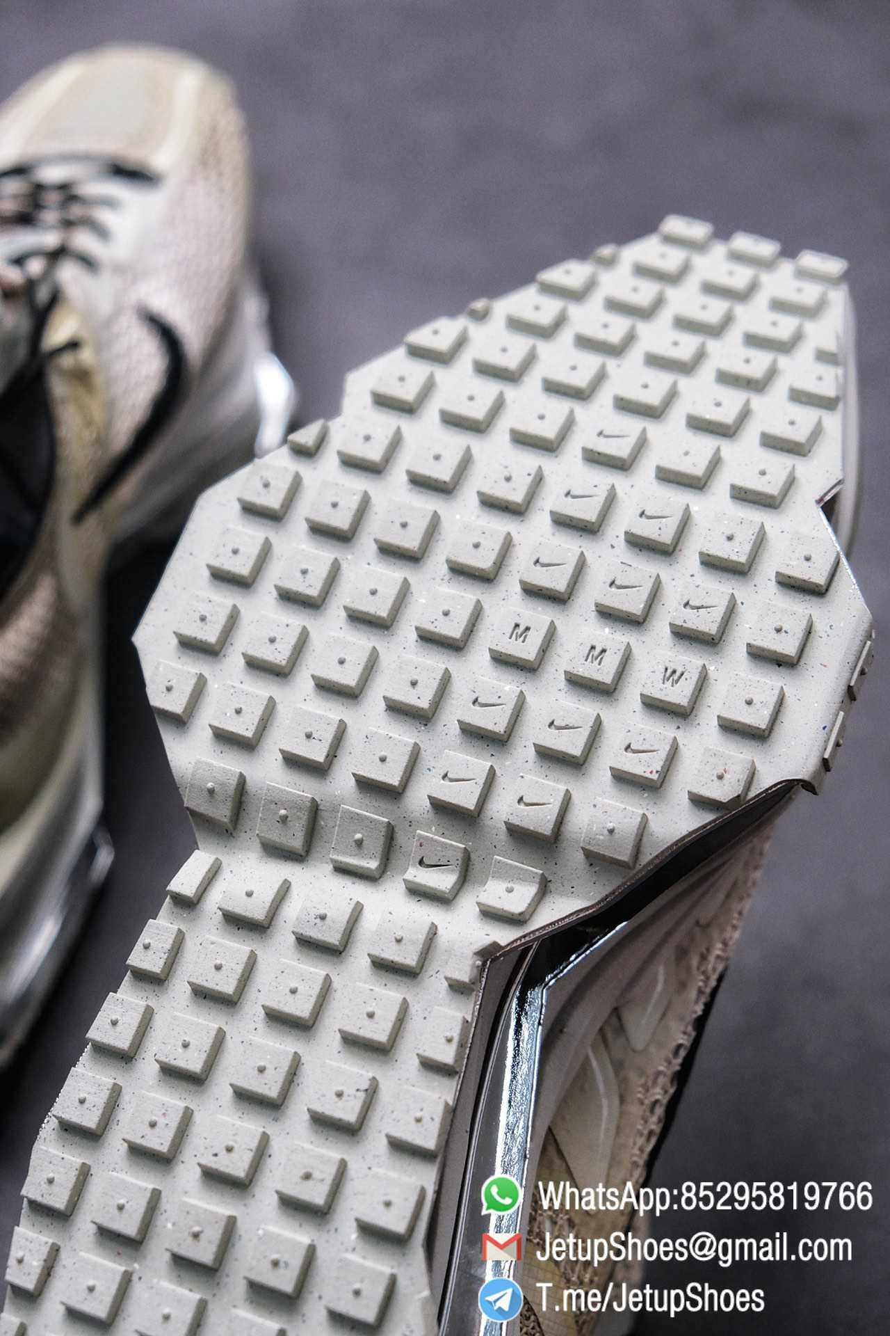 Best Replica Sneakers Matthew M Williams x Nike Zoom 004 Stone CU0676 200 Top Sneakers 013