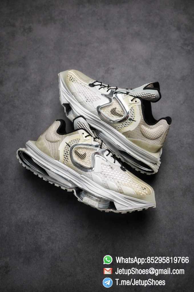 Best Replica Sneakers Matthew M Williams x Nike Zoom 004 Stone CU0676 200 Top Sneakers 016