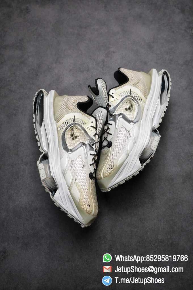 Best Replica Sneakers Matthew M Williams x Nike Zoom 004 Stone CU0676 200 Top Sneakers 017