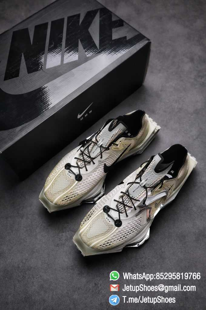 Best Replica Sneakers Matthew M Williams x Nike Zoom 004 Stone CU0676 200 Top Sneakers 019