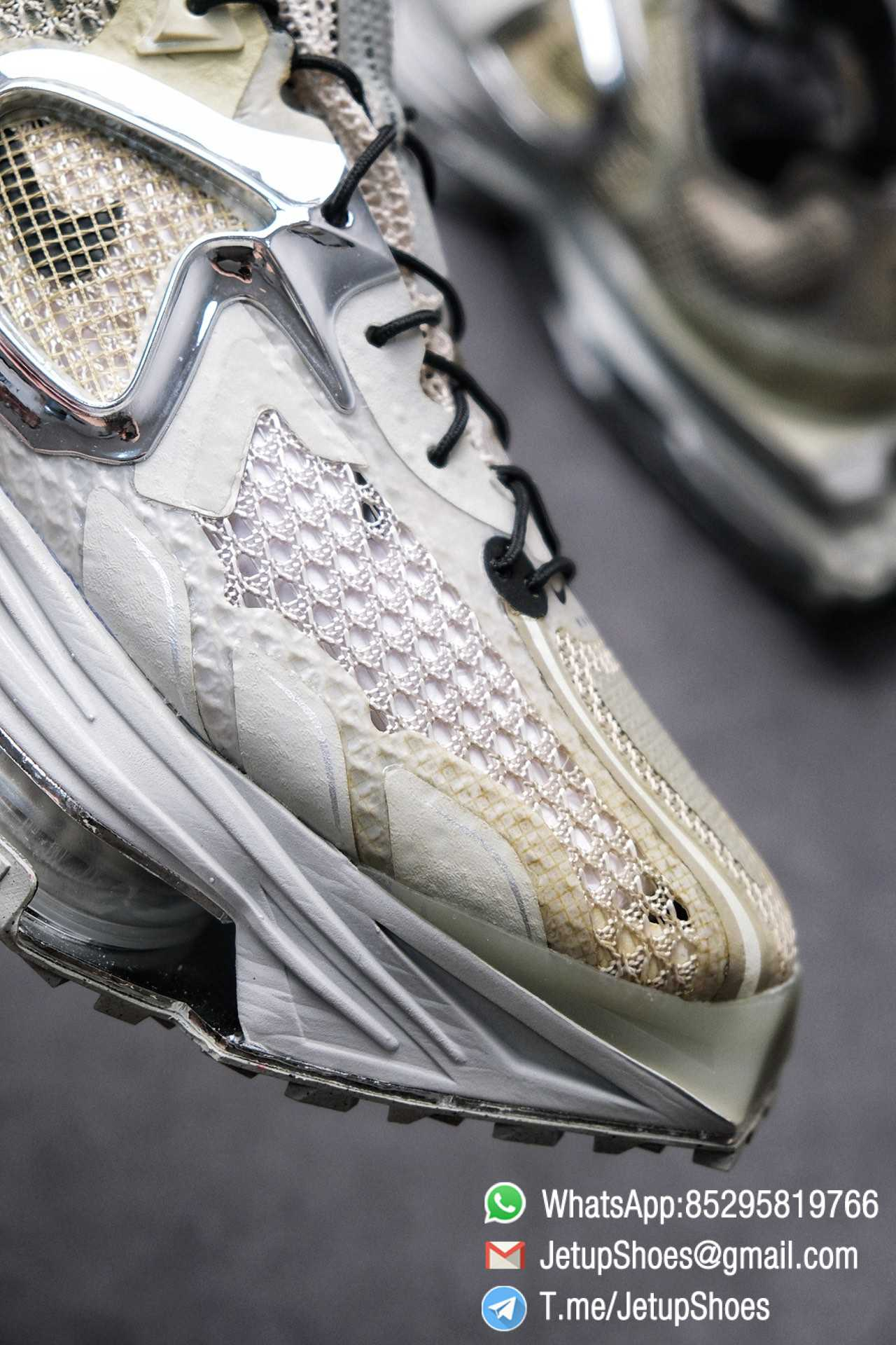 Best Replica Sneakers Matthew M Williams x Nike Zoom 004 Stone CU0676 200 Top Sneakers 02