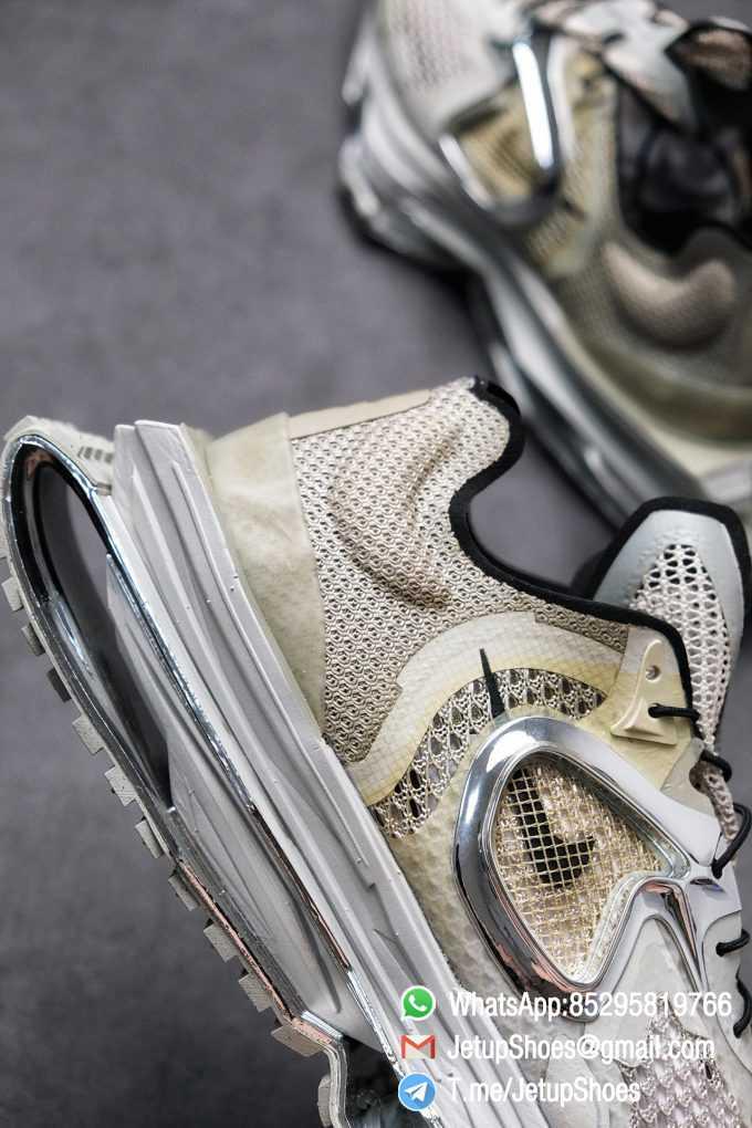 Best Replica Sneakers Matthew M Williams x Nike Zoom 004 Stone CU0676 200 Top Sneakers 03