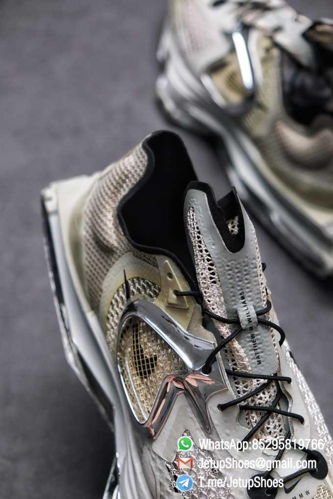 Best Replica Sneakers Matthew M Williams x Nike Zoom 004 Stone CU0676 200 Top Sneakers 04