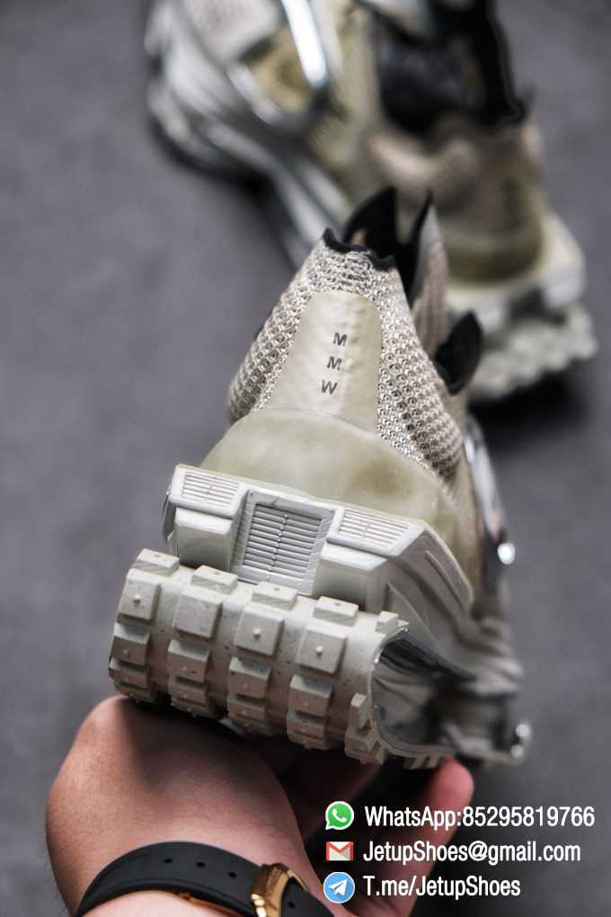 Best Replica Sneakers Matthew M Williams x Nike Zoom 004 Stone CU0676 200 Top Sneakers 05