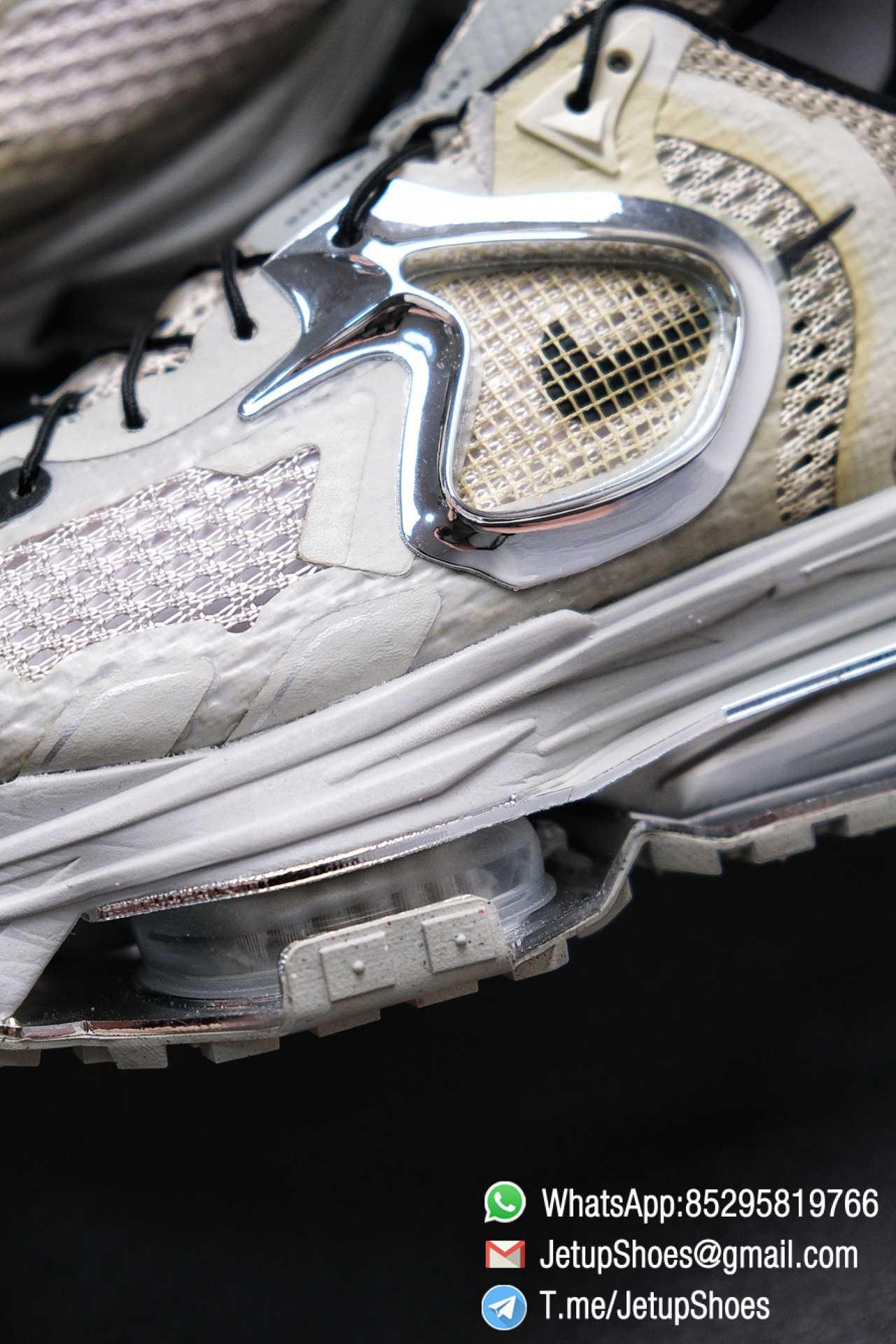 Best Replica Sneakers Matthew M Williams x Nike Zoom 004 Stone CU0676 200 Top Sneakers 06