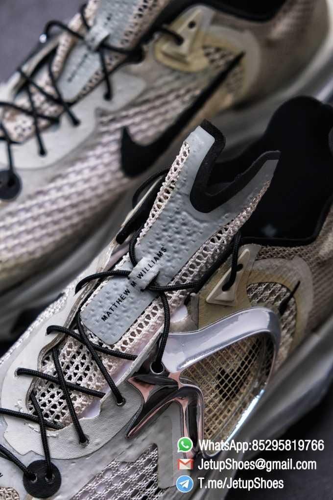 Best Replica Sneakers Matthew M Williams x Nike Zoom 004 Stone CU0676 200 Top Sneakers 07