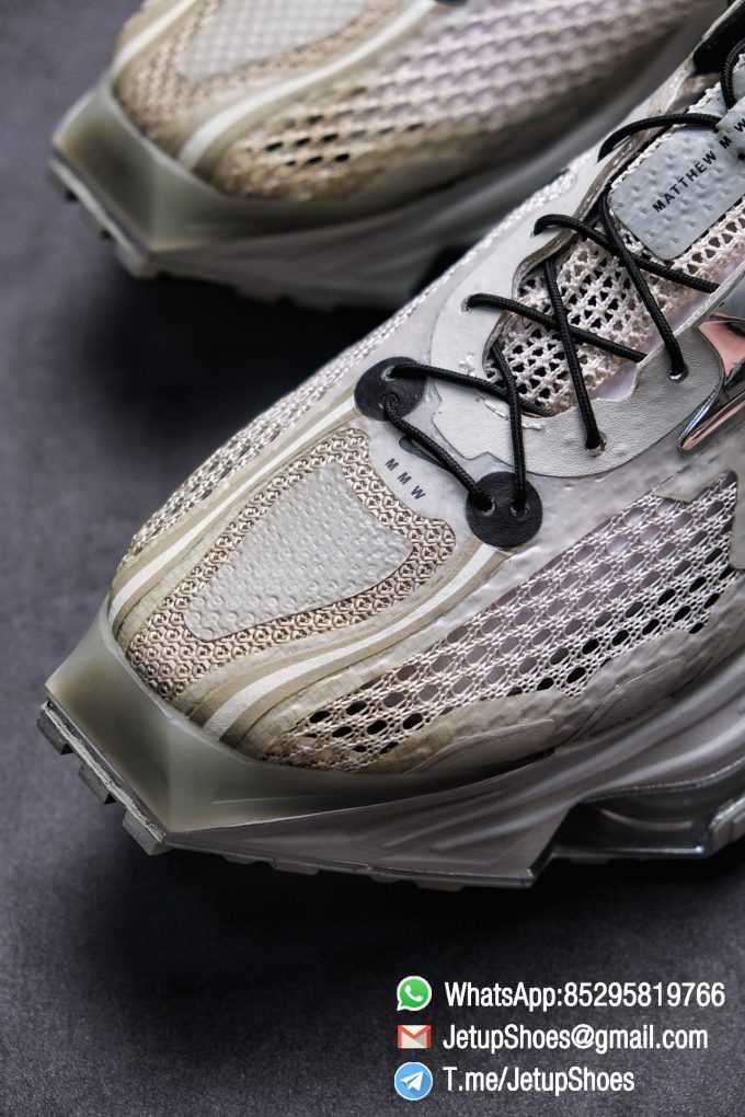 Best Replica Sneakers Matthew M Williams x Nike Zoom 004 Stone CU0676 200 Top Sneakers 08