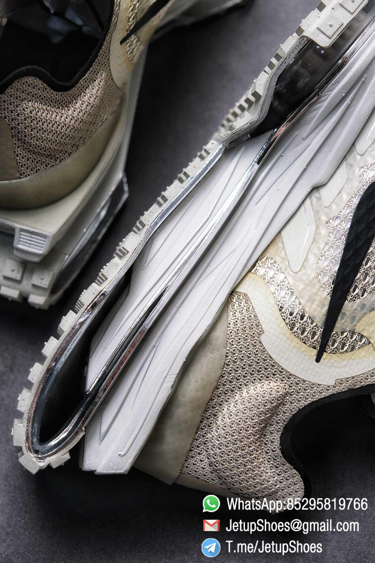 Best Replica Sneakers Matthew M Williams x Nike Zoom 004 Stone CU0676 200 Top Sneakers 09
