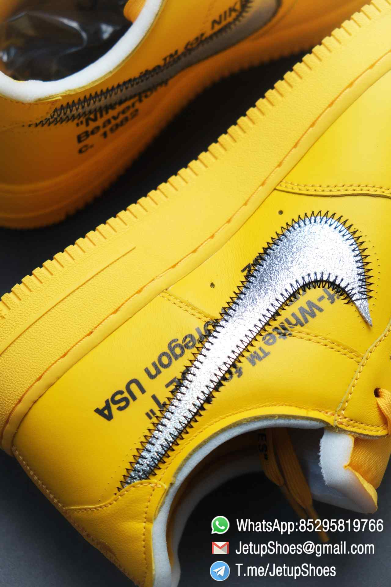 Best Replica Sneakers Off White x Air Force 1 Low University Gold SKU DD1876 700 Top Quality Basketball Shoes 015