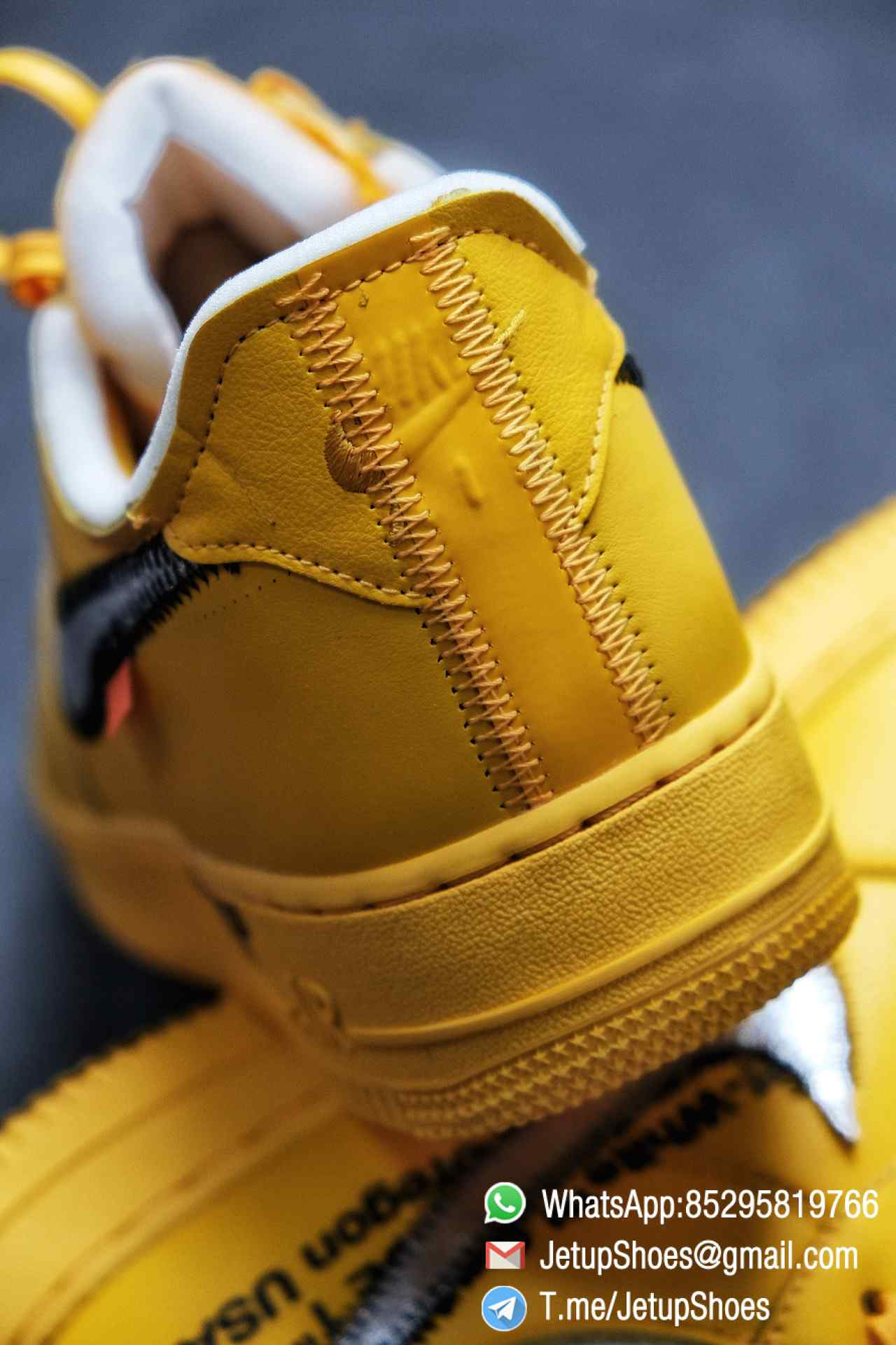 Best Replica Sneakers Off White x Air Force 1 Low University Gold SKU DD1876 700 Top Quality Basketball Shoes 016