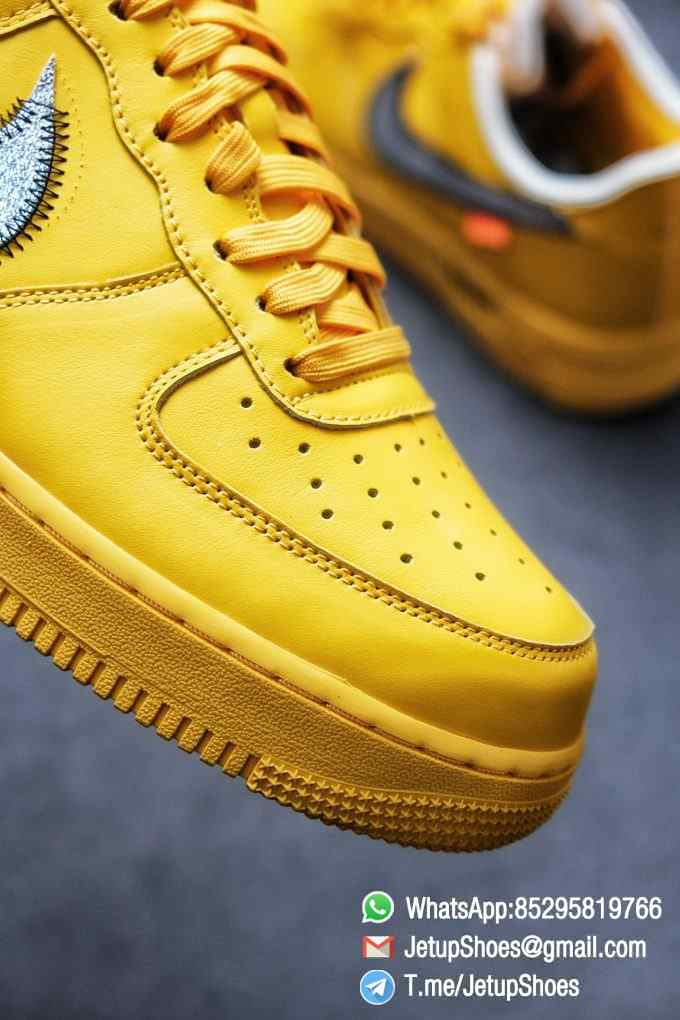 Best Replica Sneakers Off White x Air Force 1 Low University Gold SKU DD1876 700 Top Quality Basketball Shoes 06