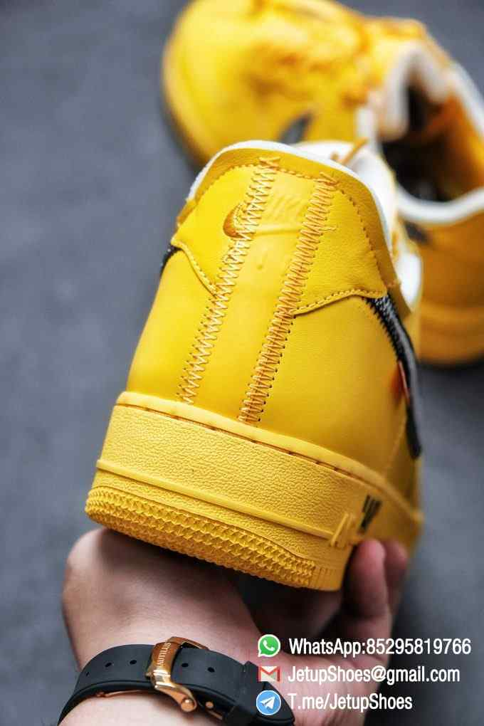 Best Replica Sneakers Off White x Air Force 1 Low University Gold SKU DD1876 700 Top Quality Basketball Shoes 08