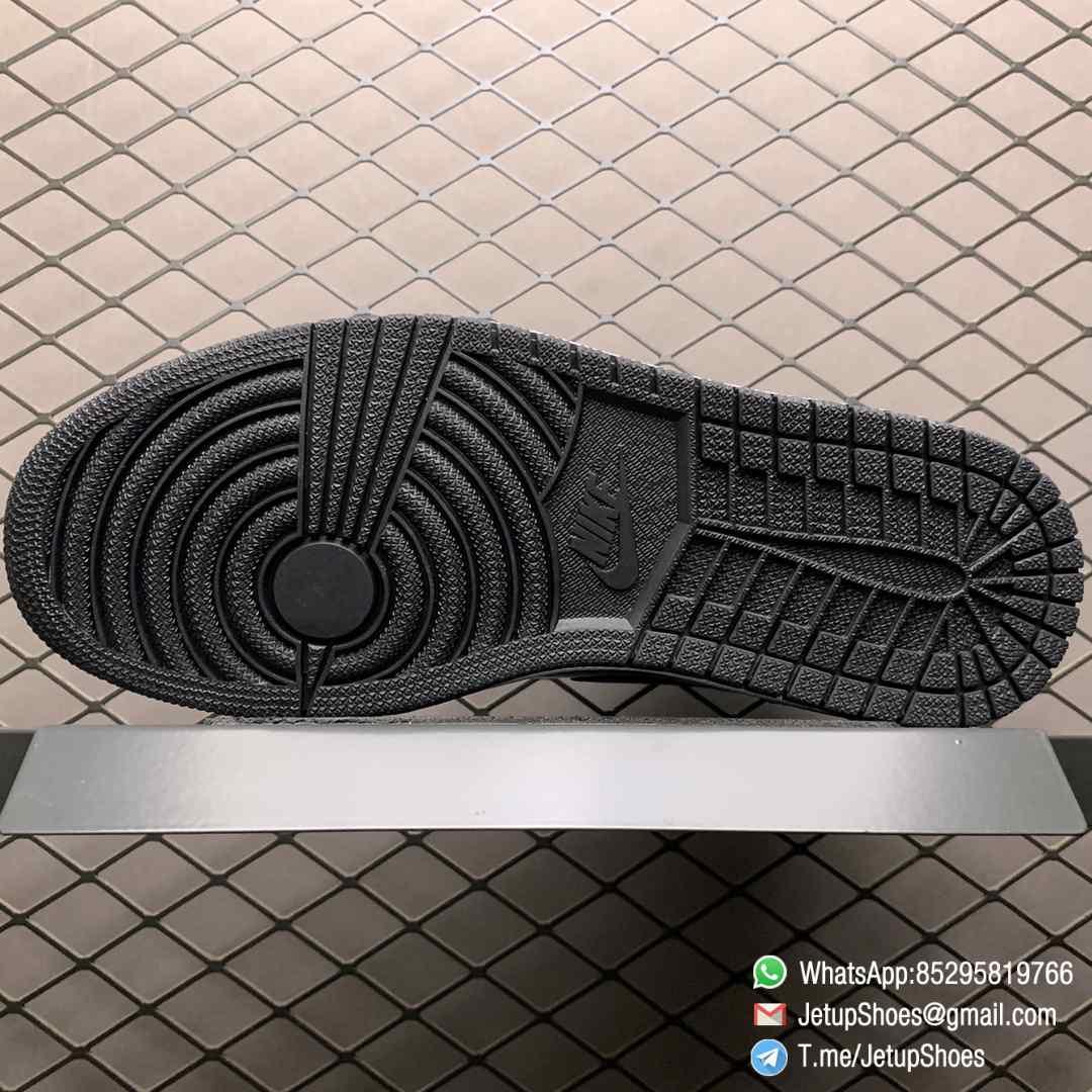 SoleFly x Air Jordan 1 Retro High OG Art Basel Friends Family AV3905 038 Black Leather upper Green Leather Overlays 08