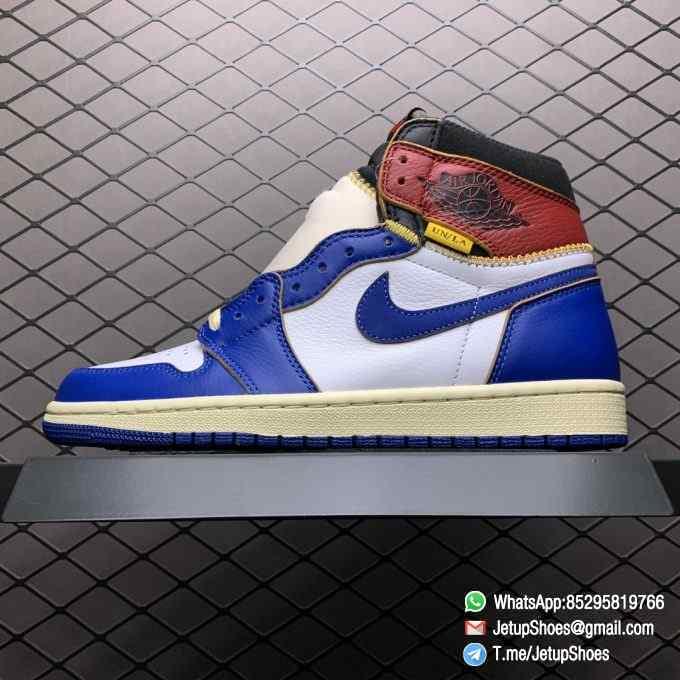 Union Los Angeles Blue Toe x Air Jordan 1 Retro High NRG Storm Blue Best Replica Shoes 01