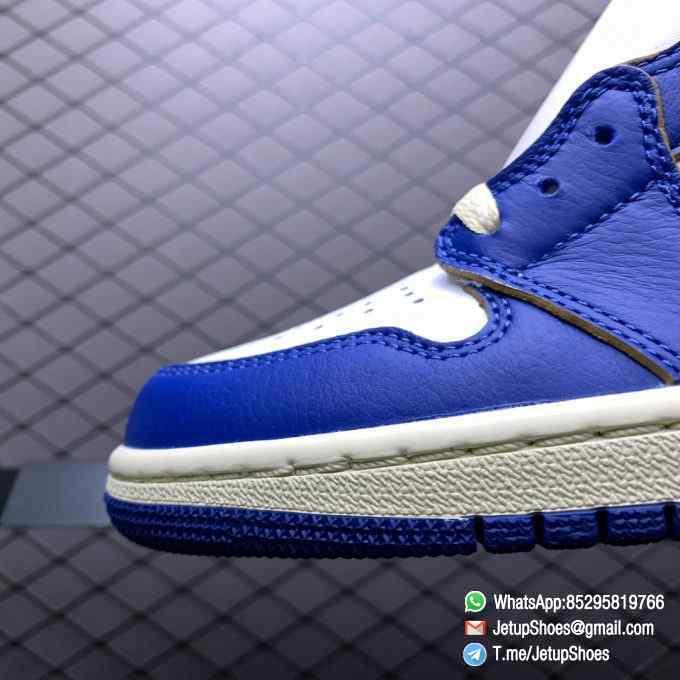 Union Los Angeles Blue Toe x Air Jordan 1 Retro High NRG Storm Blue Best Replica Shoes 03