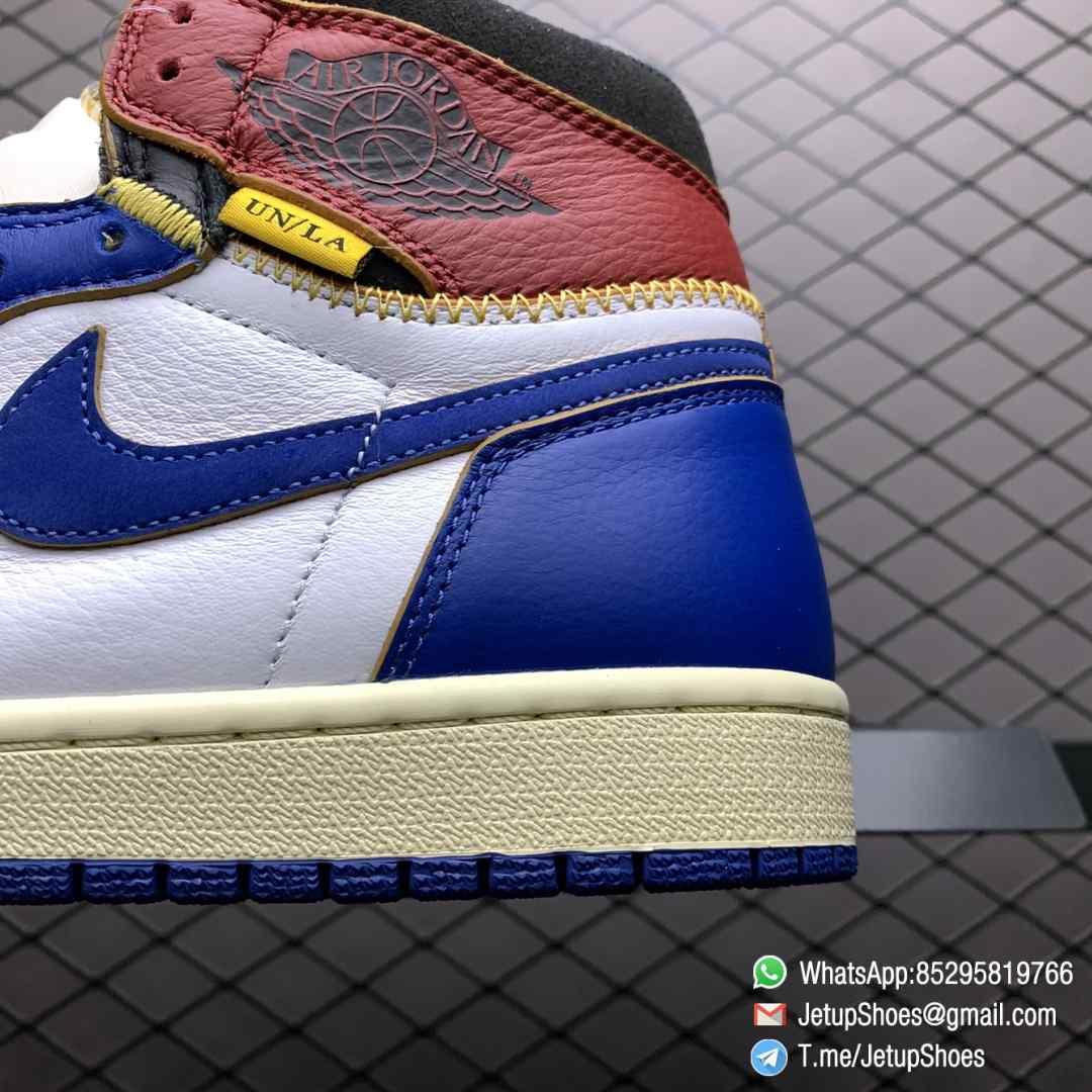 Union Los Angeles Blue Toe x Air Jordan 1 Retro High NRG Storm Blue Best Replica Shoes 04