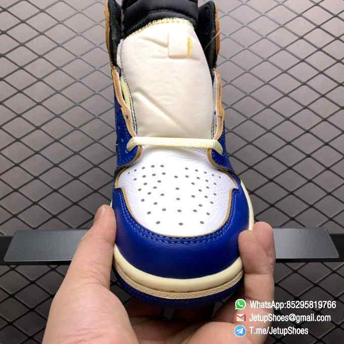Union Los Angeles Blue Toe x Air Jordan 1 Retro High NRG Storm Blue Best Replica Shoes 06