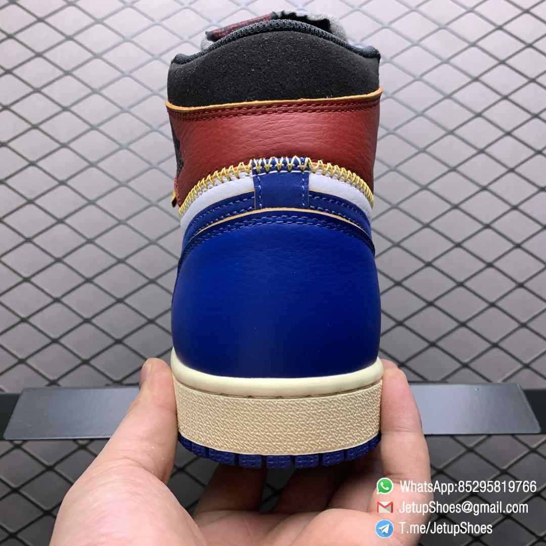 Union Los Angeles Blue Toe x Air Jordan 1 Retro High NRG Storm Blue Best Replica Shoes 07