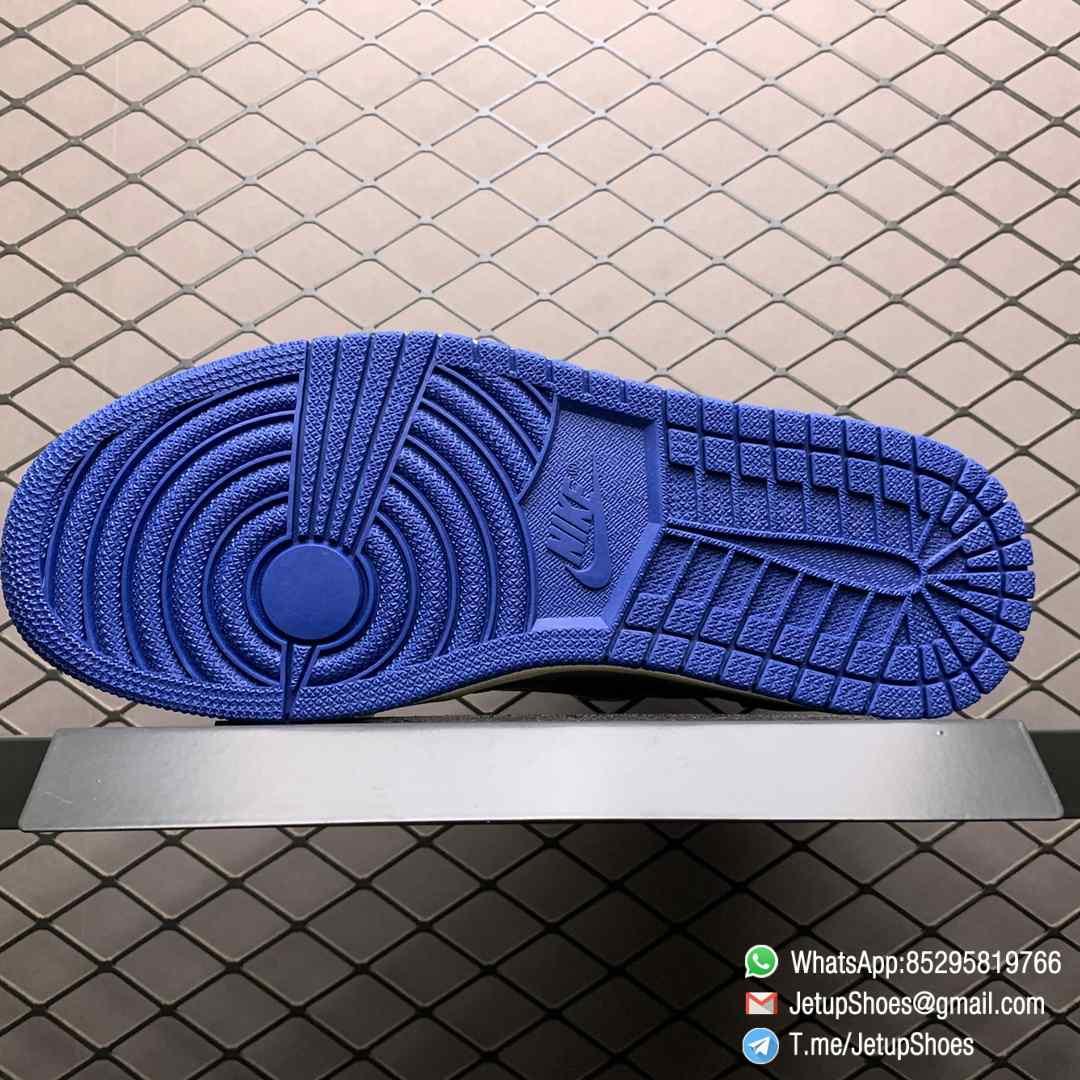 Union Los Angeles Blue Toe x Air Jordan 1 Retro High NRG Storm Blue Best Replica Shoes 08