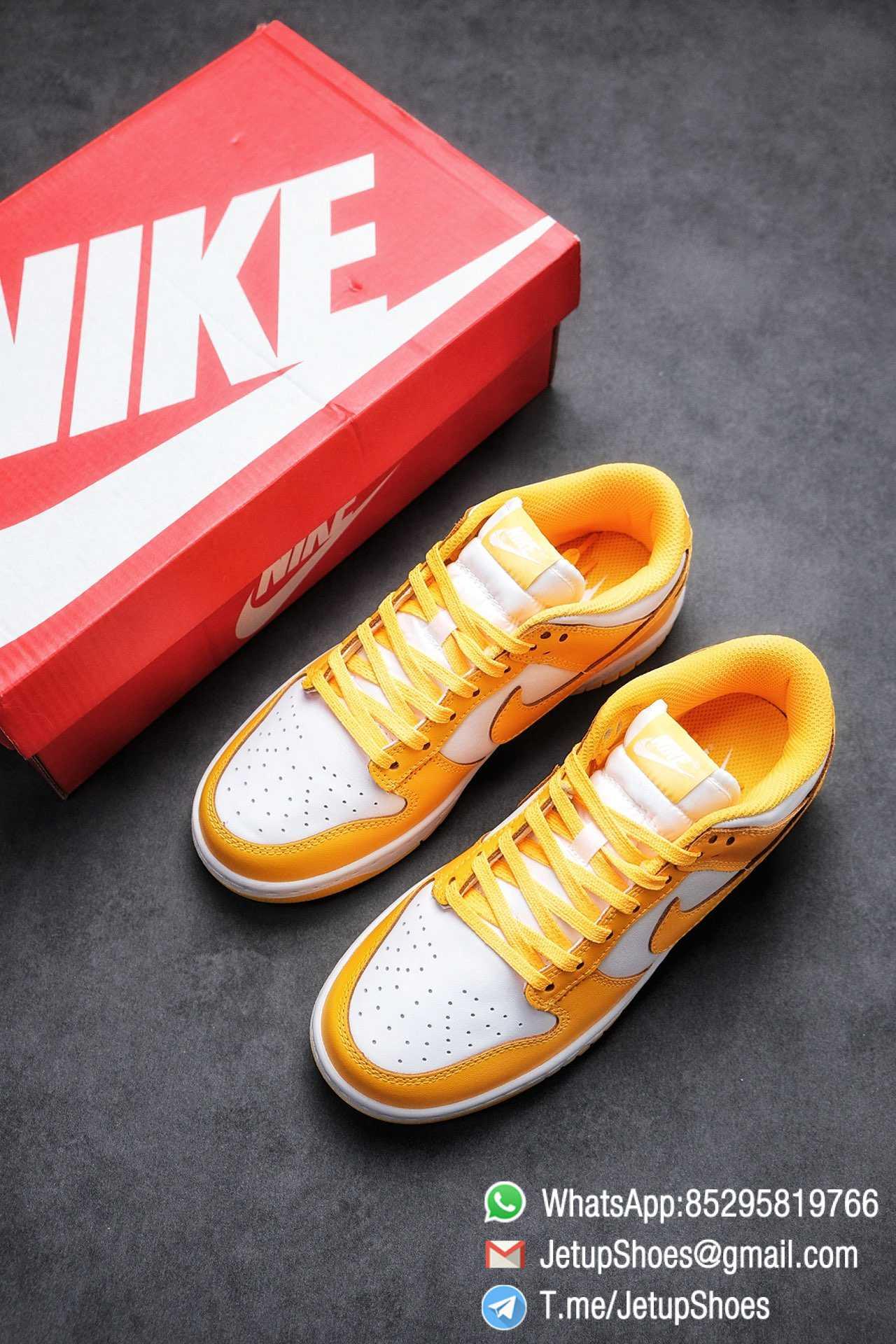 Womens Sneakers Replica Nike SB Dunk Low Laser Orange DD1503 800 Best RepSneakers 04