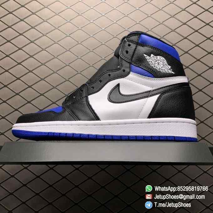 Air Jordan 1 Retro High OG Royal Toe SKU 555088 041 Best Replica Shoes Super Clone AJ1 Sneakers 01