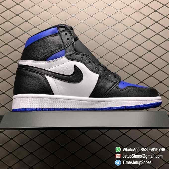 Air Jordan 1 Retro High OG Royal Toe SKU 555088 041 Best Replica Shoes Super Clone AJ1 Sneakers 02