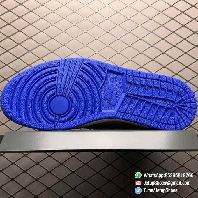Air Jordan 1 Retro High OG Royal Toe SKU 555088 041 Best Replica Shoes Super Clone AJ1 Sneakers 05