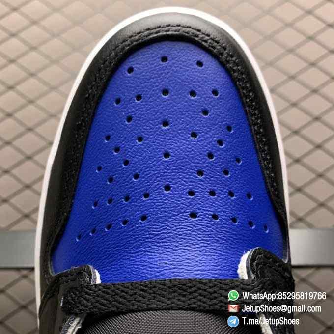 Air Jordan 1 Retro High OG Royal Toe SKU 555088 041 Best Replica Shoes Super Clone AJ1 Sneakers 06