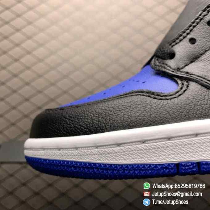 Air Jordan 1 Retro High OG Royal Toe SKU 555088 041 Best Replica Shoes Super Clone AJ1 Sneakers 07
