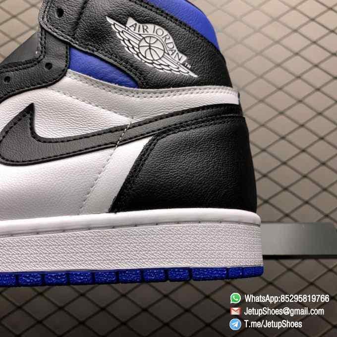 Air Jordan 1 Retro High OG Royal Toe SKU 555088 041 Best Replica Shoes Super Clone AJ1 Sneakers 08