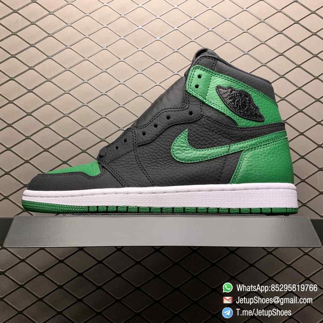 Best RepSneakers Air Jordan 1 Retro High OG Pine Green 2.0 SKU 555088 030 Best Replica Shoes Supplier 01