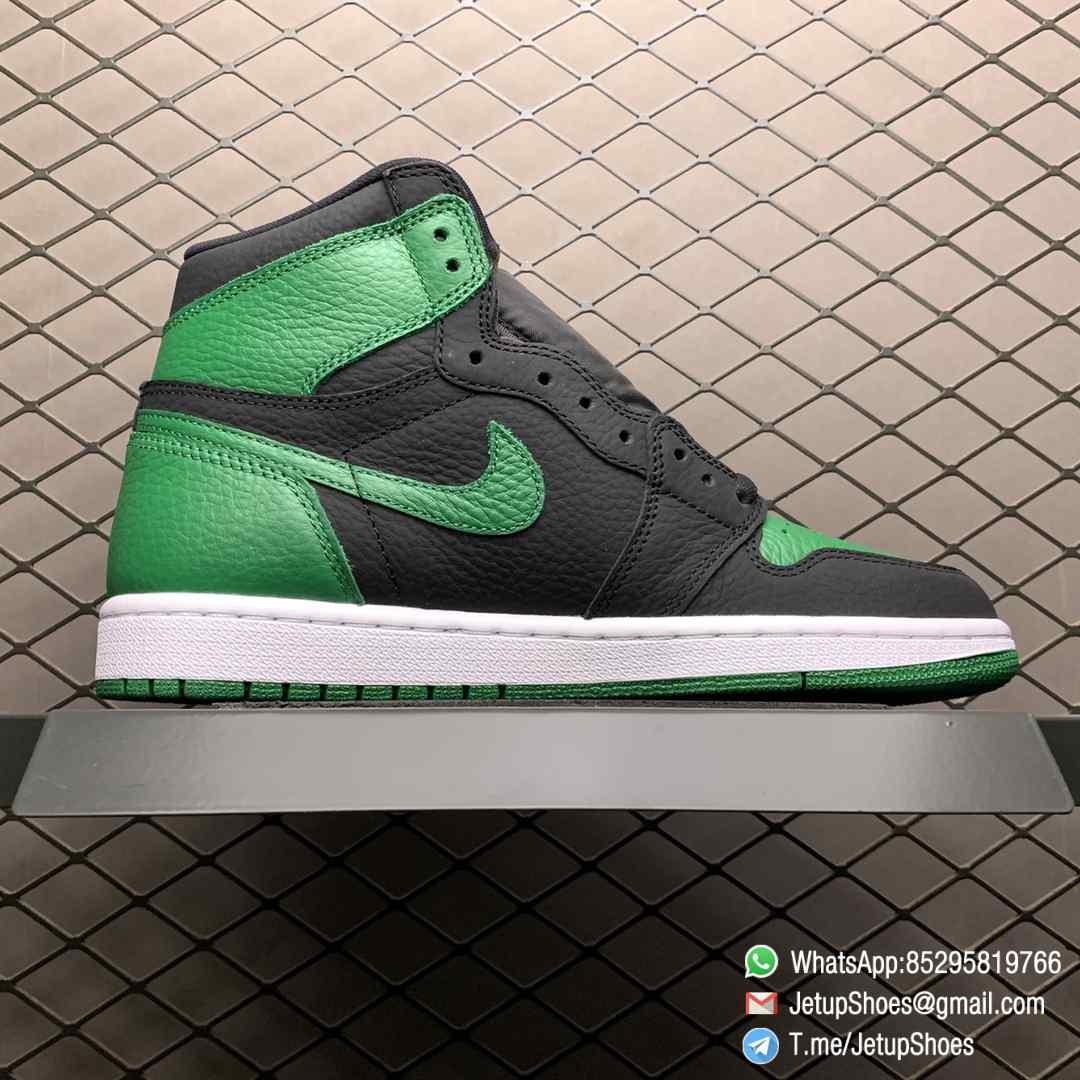 Best RepSneakers Air Jordan 1 Retro High OG Pine Green 2.0 SKU 555088 030 Best Replica Shoes Supplier 02