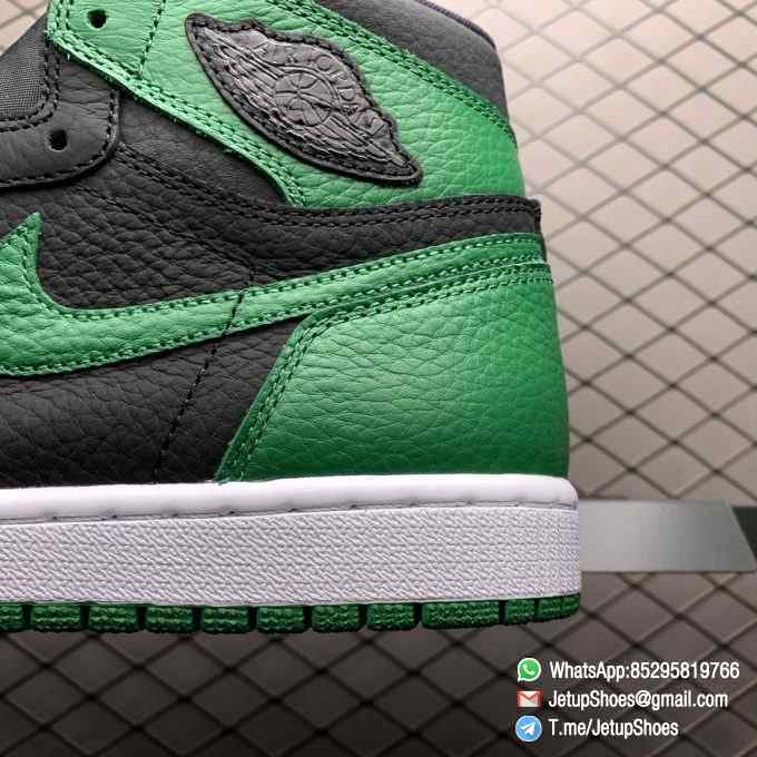 Best RepSneakers Air Jordan 1 Retro High OG Pine Green 2.0 SKU 555088 030 Best Replica Shoes Supplier 04