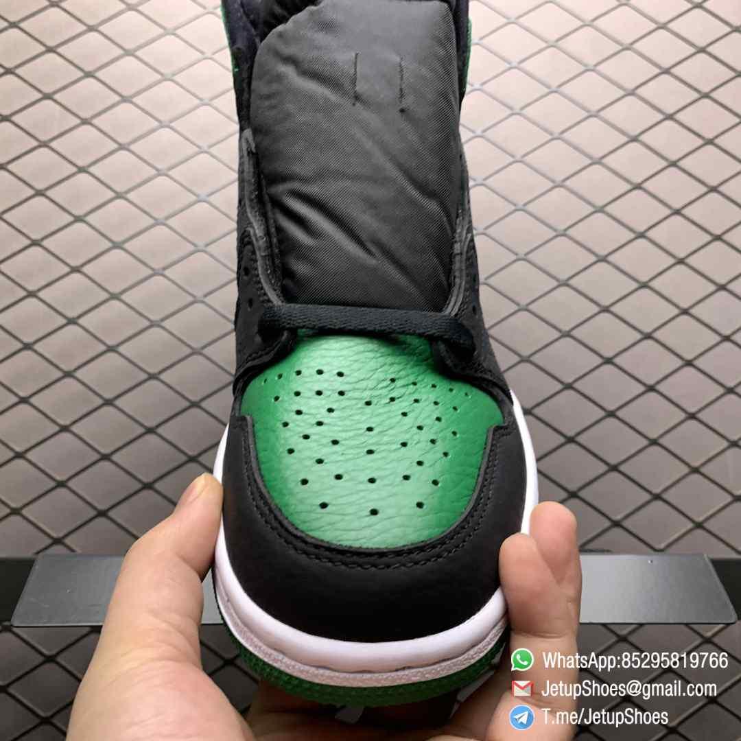 Best RepSneakers Air Jordan 1 Retro High OG Pine Green 2.0 SKU 555088 030 Best Replica Shoes Supplier 05