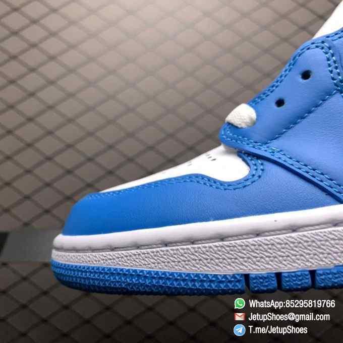 Best Replica Sneakers Air Jordan 1 Retro High OG UNC SKU 555088 117 Blue and White Colorway Top Quality RepSneakers 03