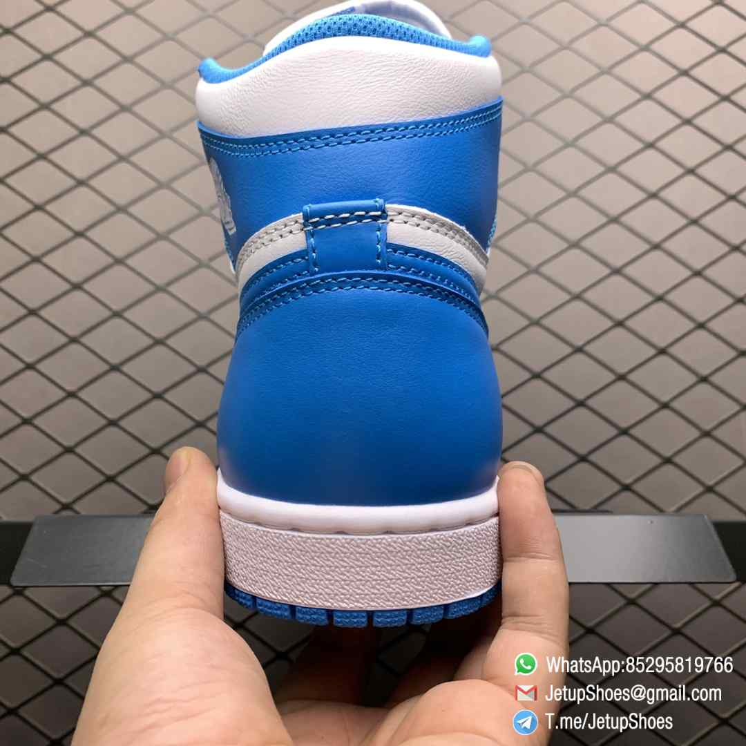 Best Replica Sneakers Air Jordan 1 Retro High OG UNC SKU 555088 117 Blue and White Colorway Top Quality RepSneakers 06