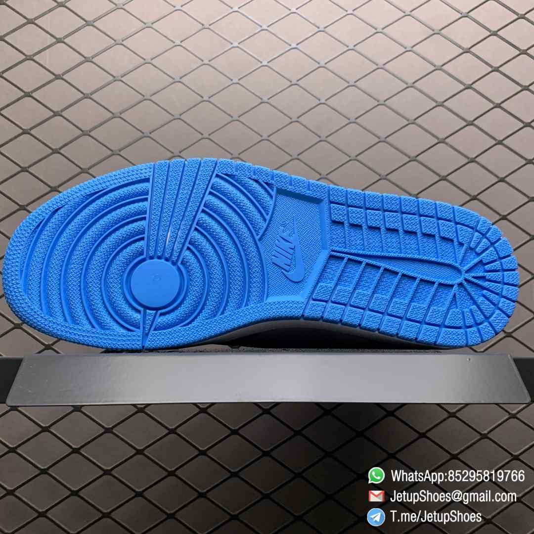 Best Replica Sneakers Air Jordan 1 Retro High OG UNC SKU 555088 117 Blue and White Colorway Top Quality RepSneakers 07