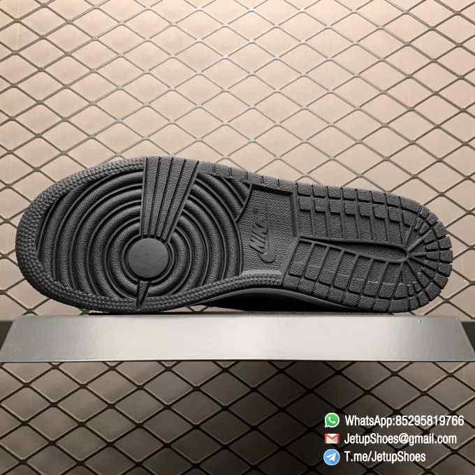 Jordan 1 Retro High OG Smoke Grey SKU 555088 126 Varsity Red Ankle Flap Neutral Tones Upper Grey Suede Overlays 05