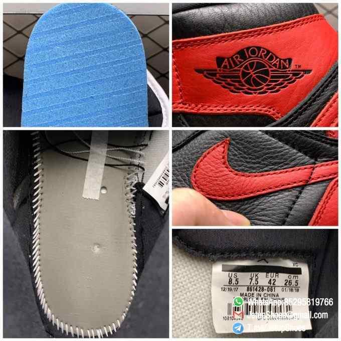 RepSneakers Air Jordan 1 Retro High OG NRG Homage to Home SKU 861428 061 Best Replica AJ 1S Sneakers 09