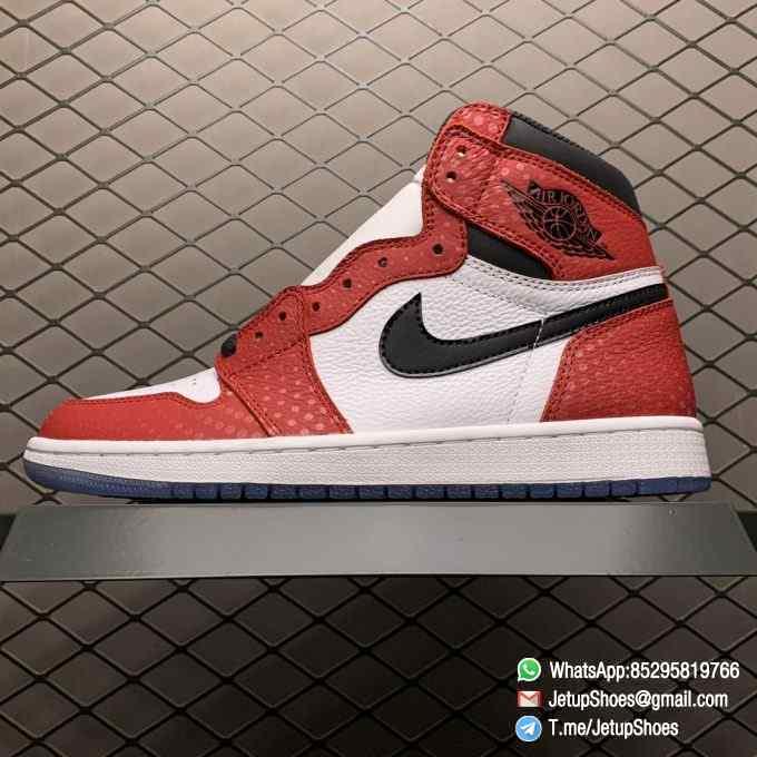 RepSneakers Air Jordan 1 Retro High OG Origin Story SKU 555088 602 Best Clone Jordan 1S Sneakers 01
