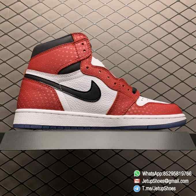 RepSneakers Air Jordan 1 Retro High OG Origin Story SKU 555088 602 Best Clone Jordan 1S Sneakers 02