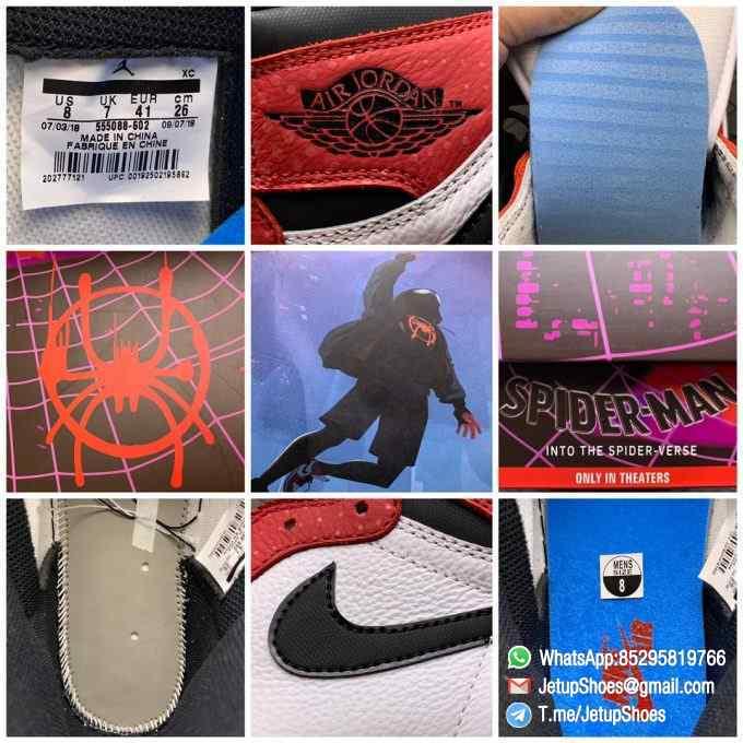 RepSneakers Air Jordan 1 Retro High OG Origin Story SKU 555088 602 Best Clone Jordan 1S Sneakers 09