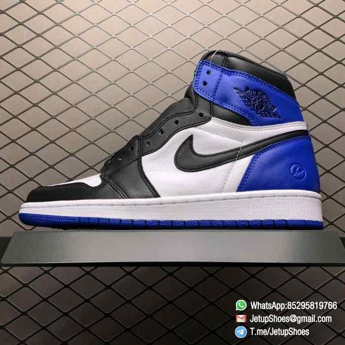 RepSneakers Fragment Design x Air Jordan 1 Retro High OG SKU 716371 040 Best Replica Sneakers Top Rep Snkrs 01