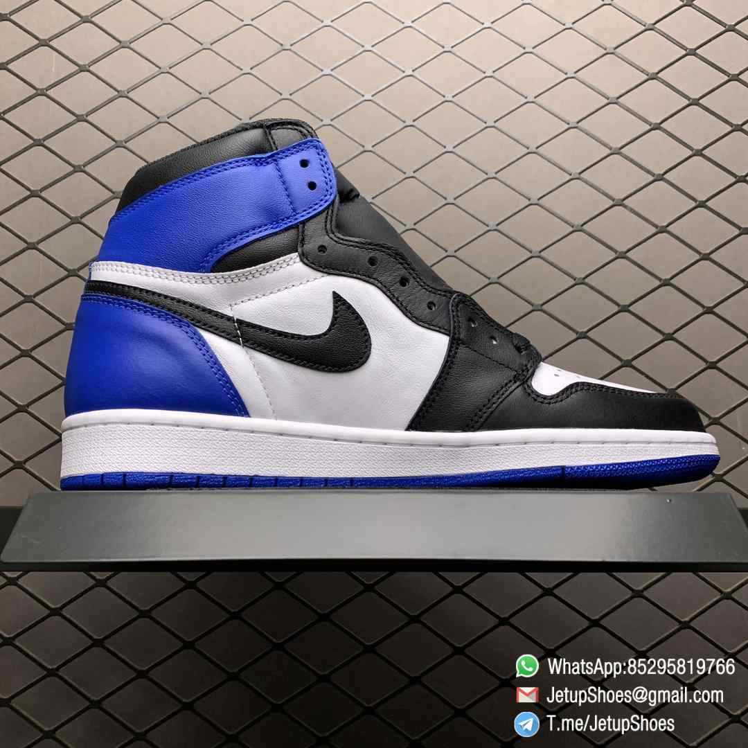RepSneakers Fragment Design x Air Jordan 1 Retro High OG SKU 716371 040 Best Replica Sneakers Top Rep Snkrs 02