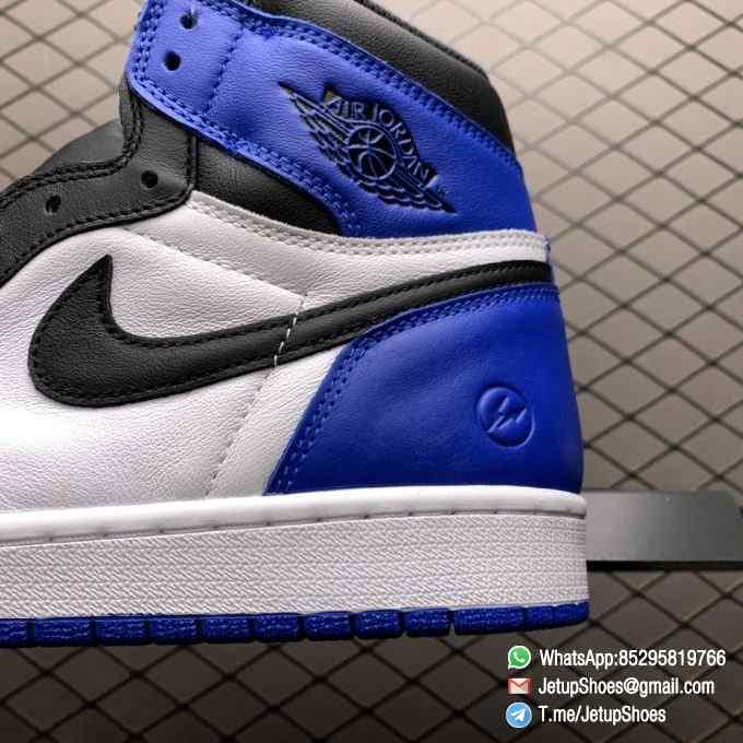 RepSneakers Fragment Design x Air Jordan 1 Retro High OG SKU 716371 040 Best Replica Sneakers Top Rep Snkrs 07