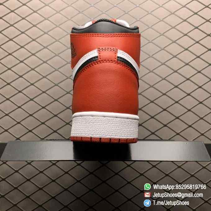 RepSnkrs Womens Air Jordan 1 Retro High OG GS Chicago 2015 SKU 575441 101 Varsity Red Upper Outsole White Midsole 04